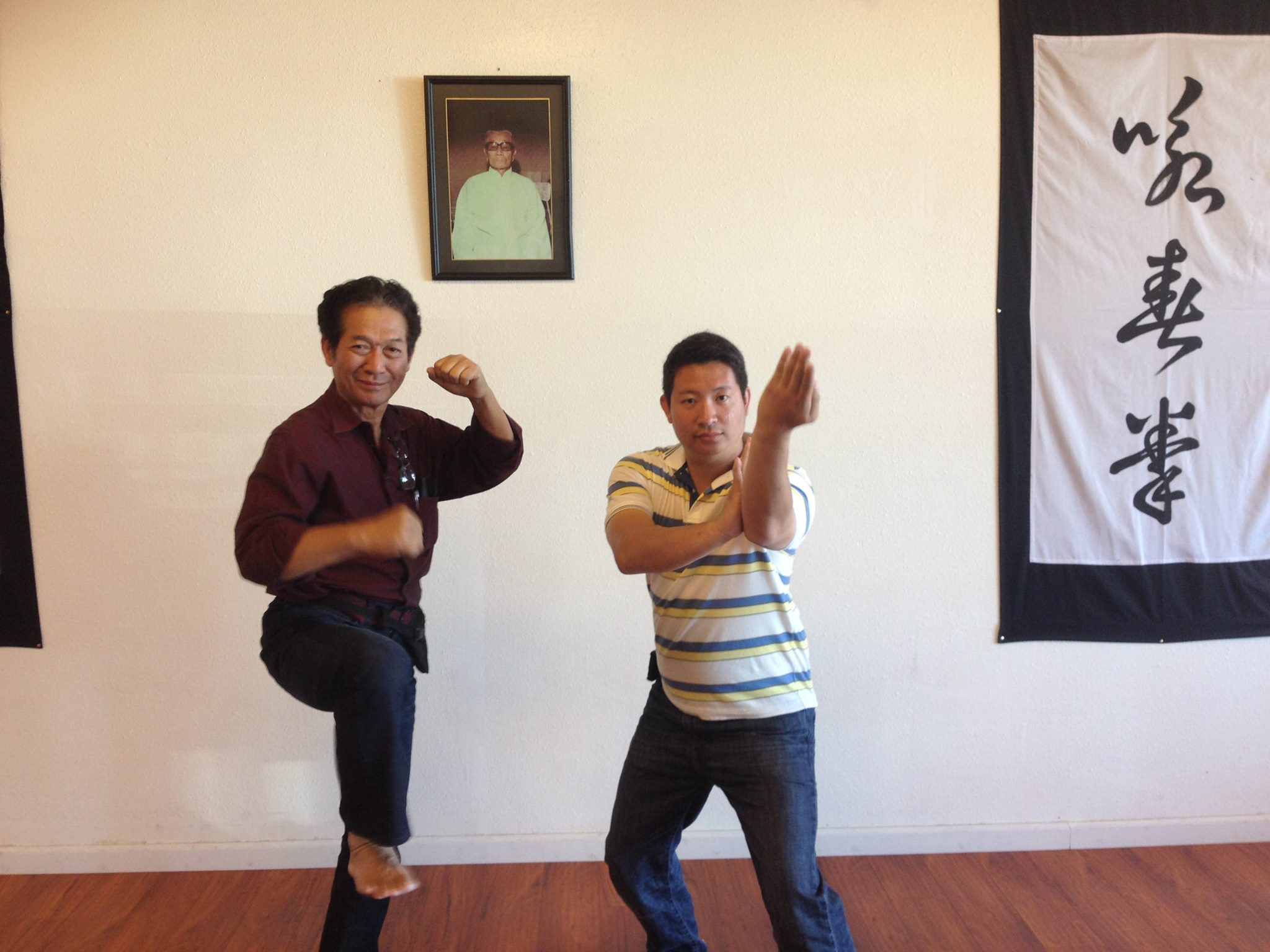Bokator meets black flag wing chun