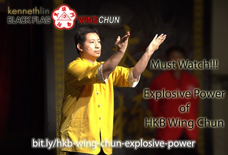 black flag wing chun explosive power