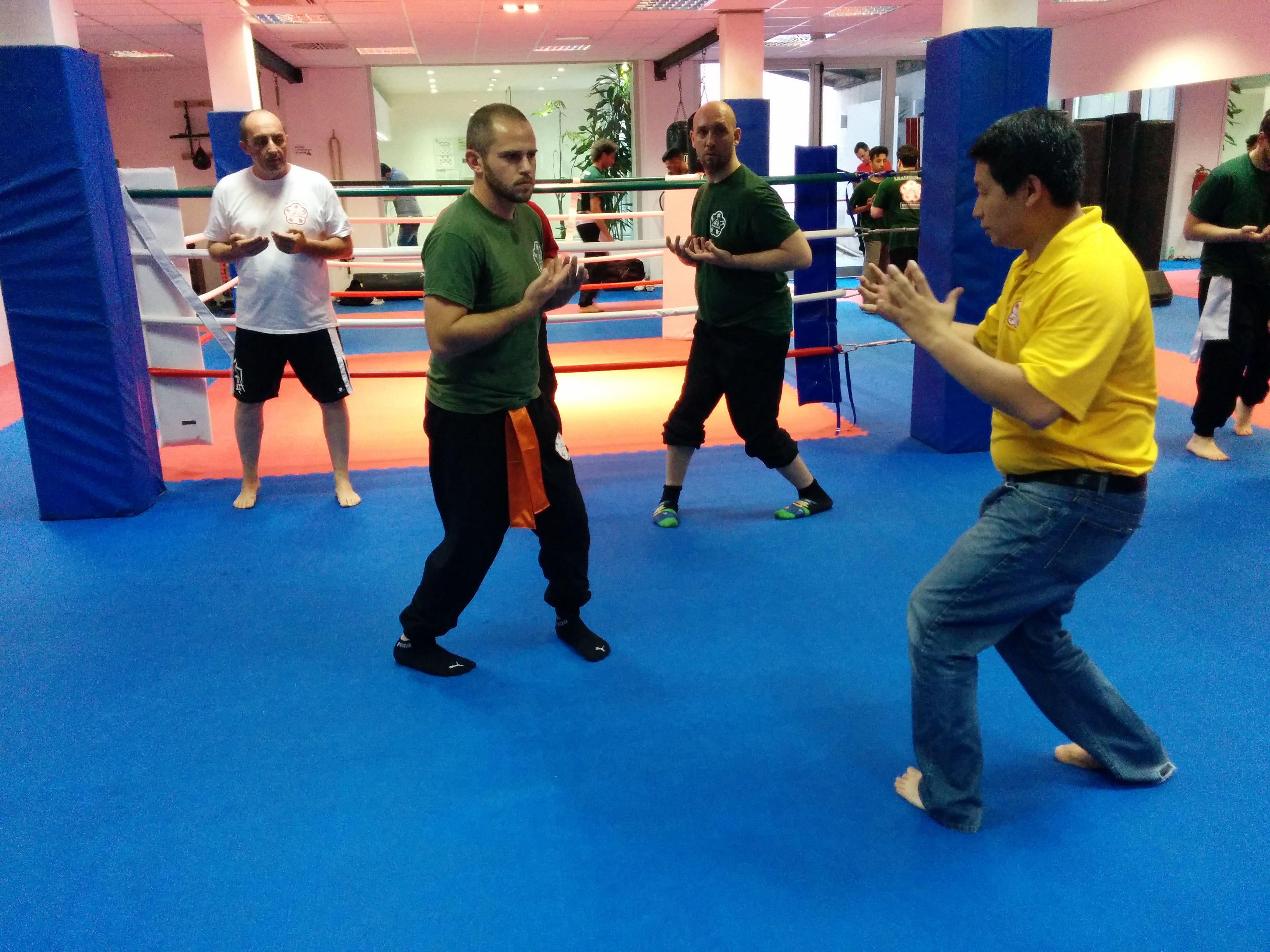 Sifu Kenneth Lin in Rome June 2014