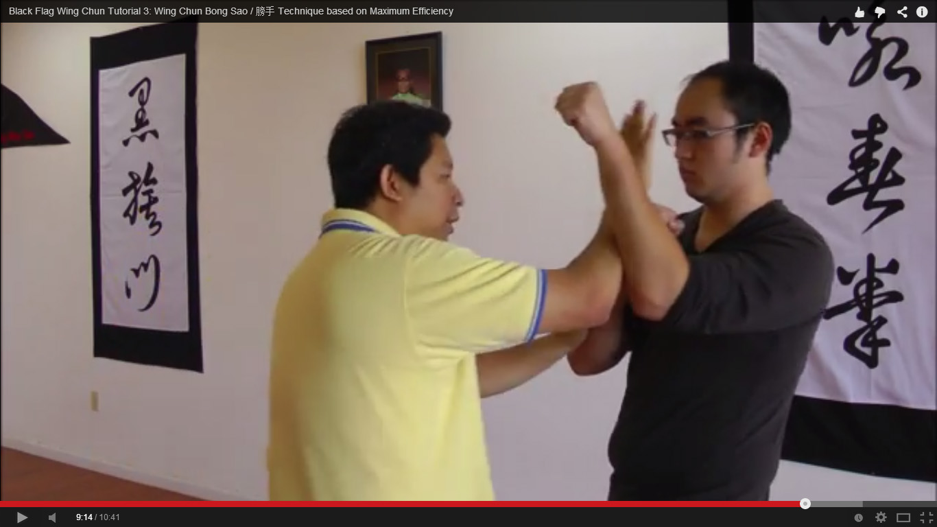 Black Flag Wing Chun Bong Sao