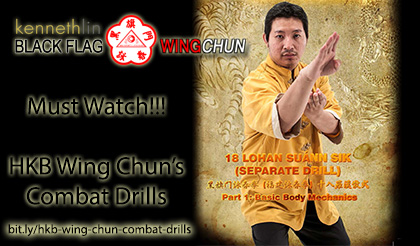 black flag wing chun combat drills