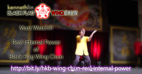 black flag wing chun real internal power