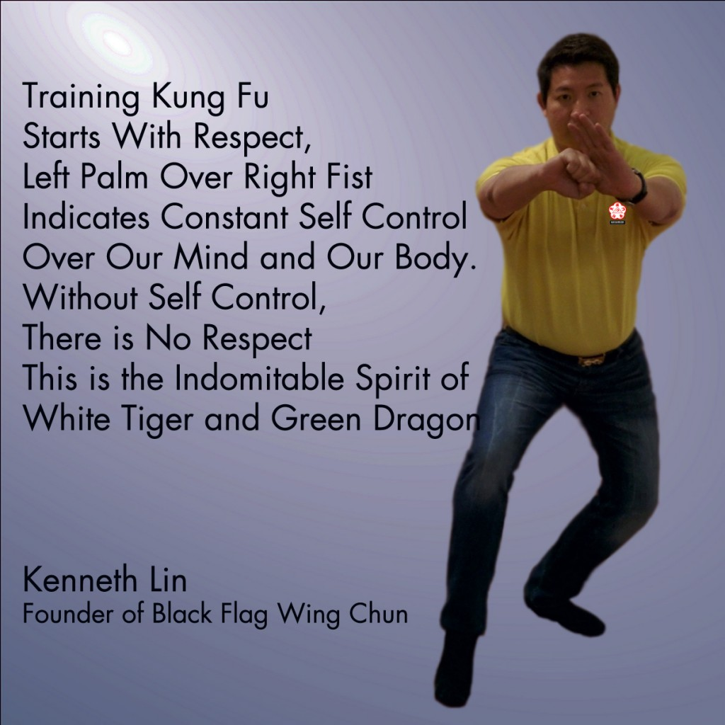 Black Flag Wing Chun White Tiget Green Dragon