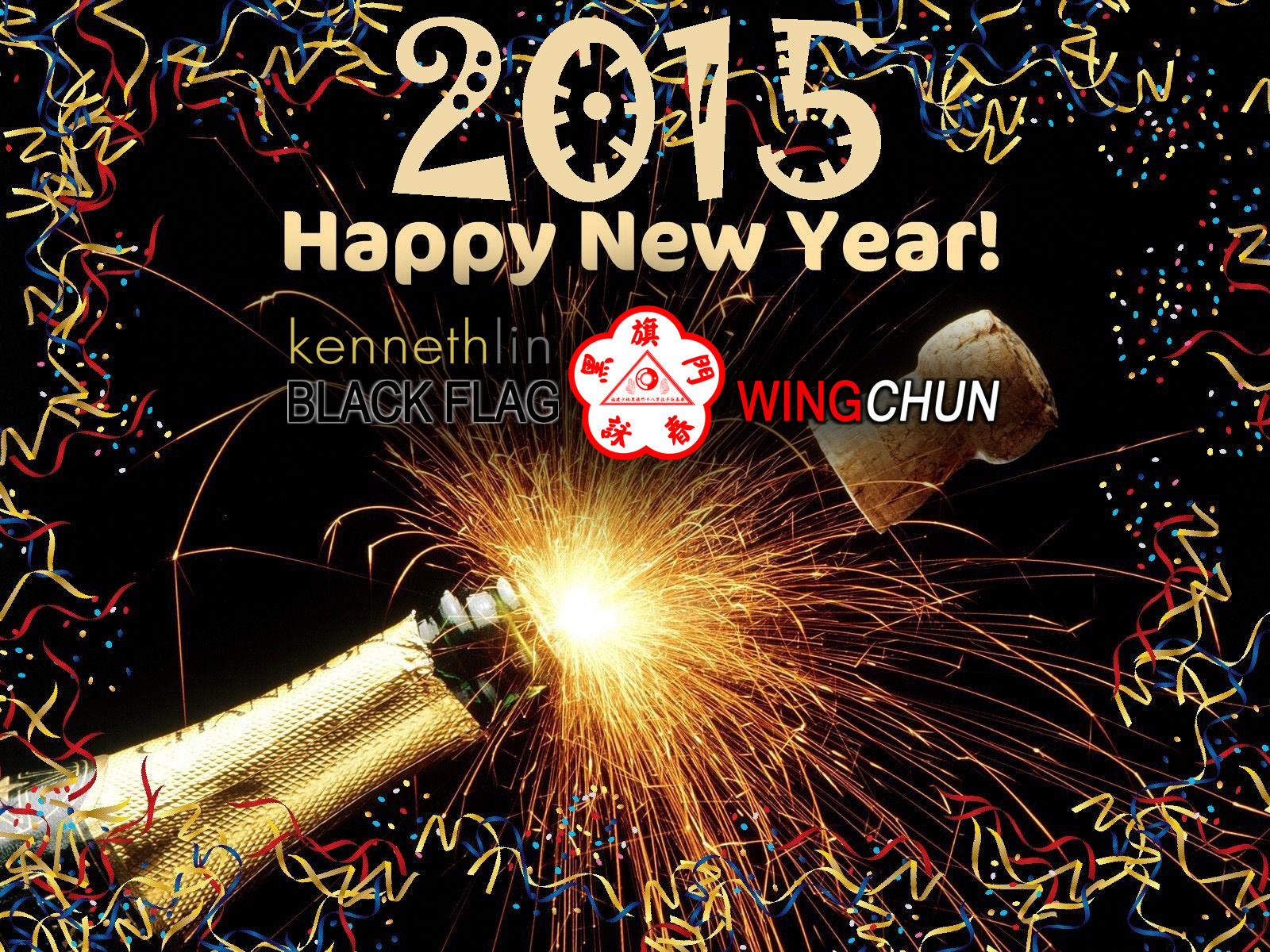 Happy New Year 2015 from Sifu Kenneth Lin